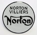 Norton Commando Fastback Fuel Tank Badge